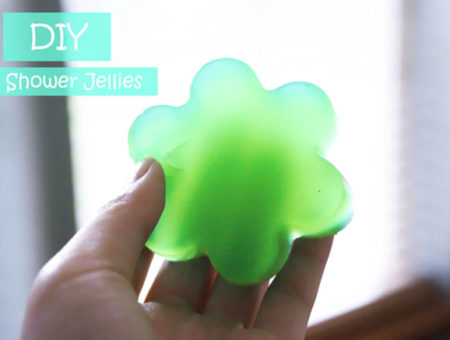 How to make shower jellies - DIY