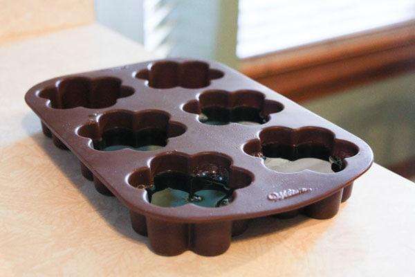 DIY Shower jelly step 5