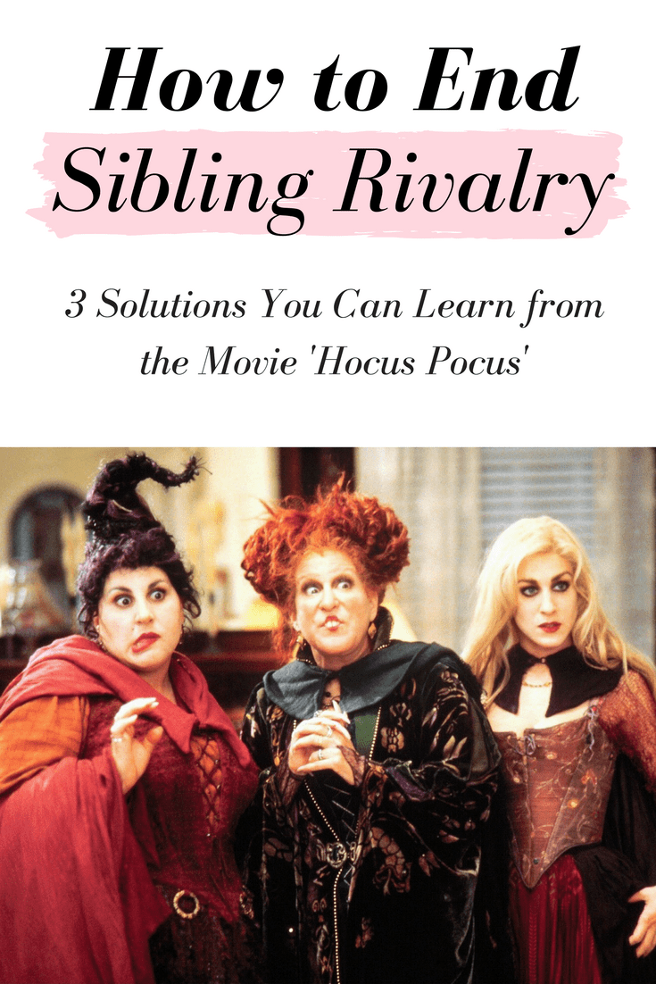 Sibling rivalry solutions: How to end adult sibling rivalry with some tips from our favorite Halloween movie