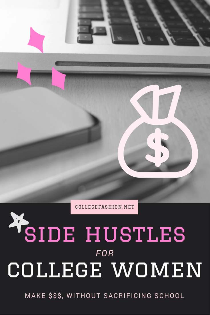 Side hustles for college women: How to make money on the side while you're in college