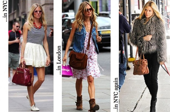 Sienna Miller's casual looks