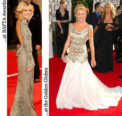 More of Sienna Miller's evening looks