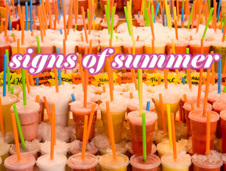 Signs of Summer