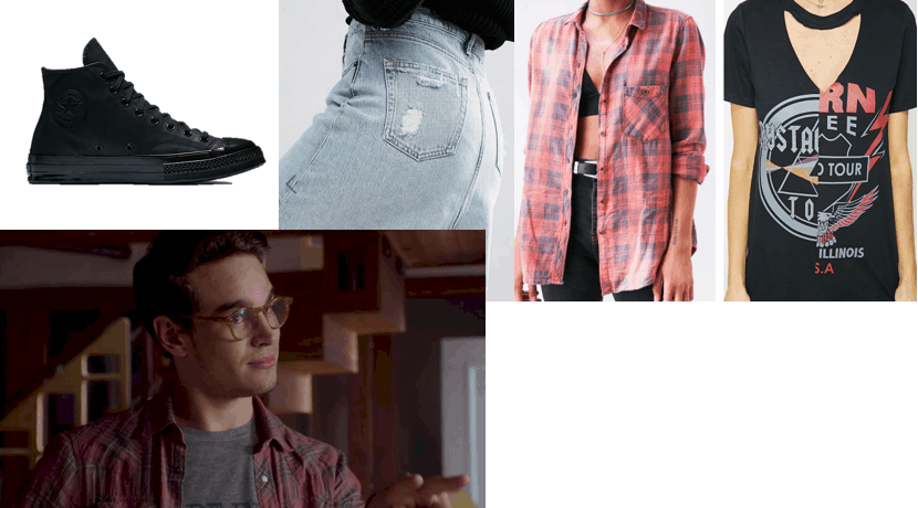Outfit inspired by Simon Lewis from Shadowhunters