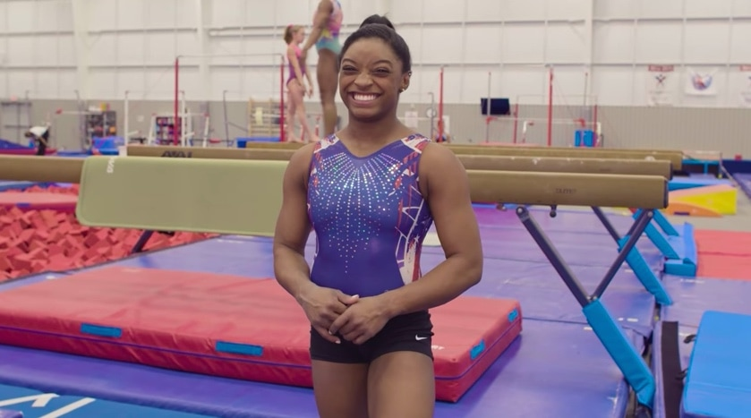 Simone Biles does 73 questions with Vogue