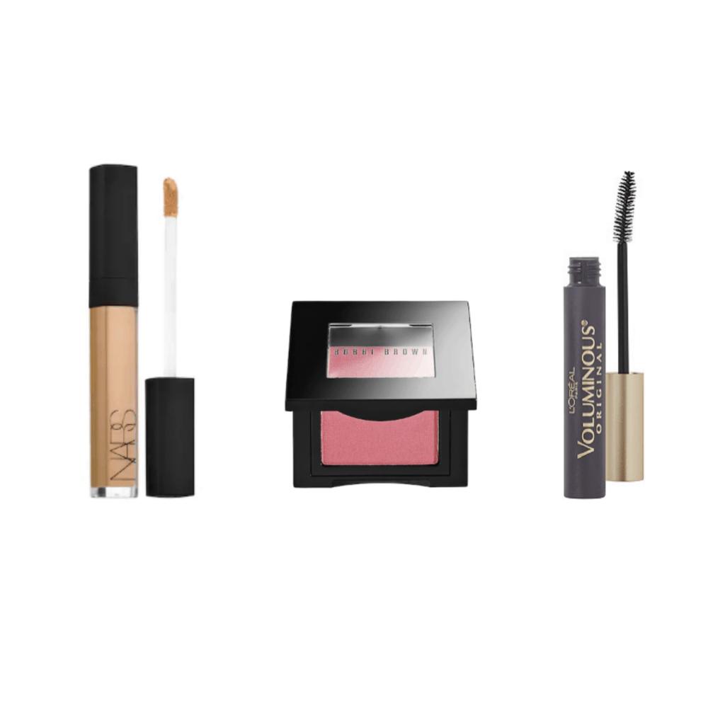 3-step makeup routine