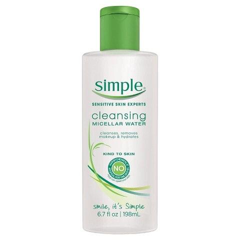 simple micellar water cleanser