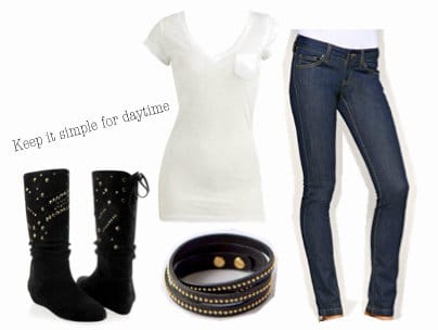 Simple Balmain inspired outfit for day