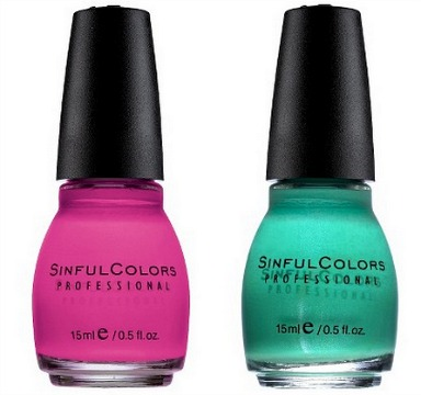 Sinful Colors Nail Polishes