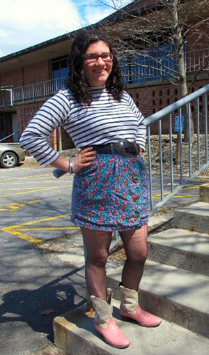 Fashion at Skidmore College as seen on college fashionista Becky