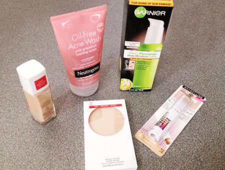 Skincare foundation products