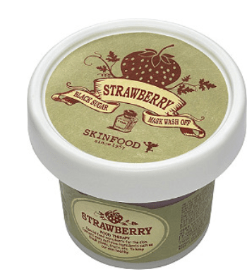 skinfood strawberry wash off mask