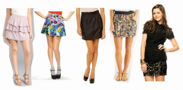 Blair Waldorf-inspired skirts