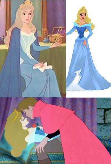 Sleeping Beauty Blue Dress