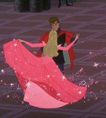 Sleeping Beauty dancing