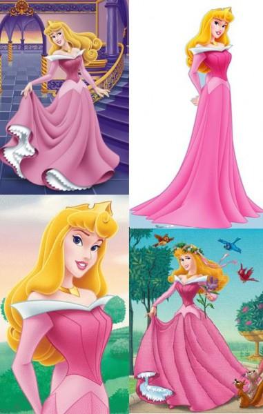 Sleeping Beauty Pink Dress