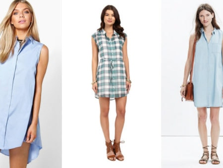Sleeveless-Shirtdress-Trend