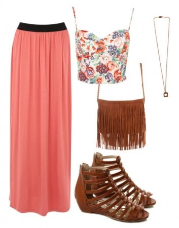 Awesome Skirt Outfit for Small Chested People