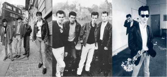 Photos of Morrissey and The Smiths