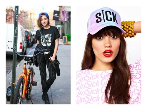 Snapback hat style