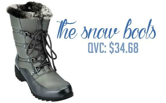 Snow boots under $35