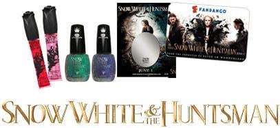 Snow White & the Huntsman Prize Package: Nail Polish, Lip Shine, Cell Phone Mirror,  Fandango Bucks