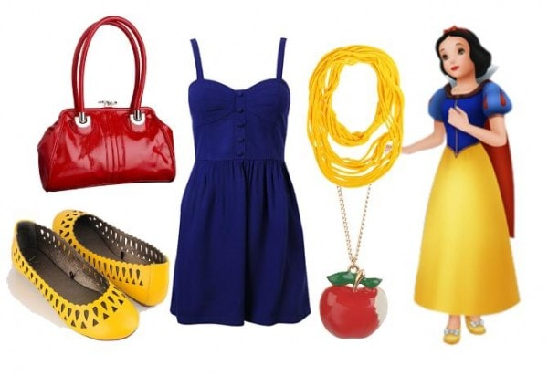 Snow White Outfit 3