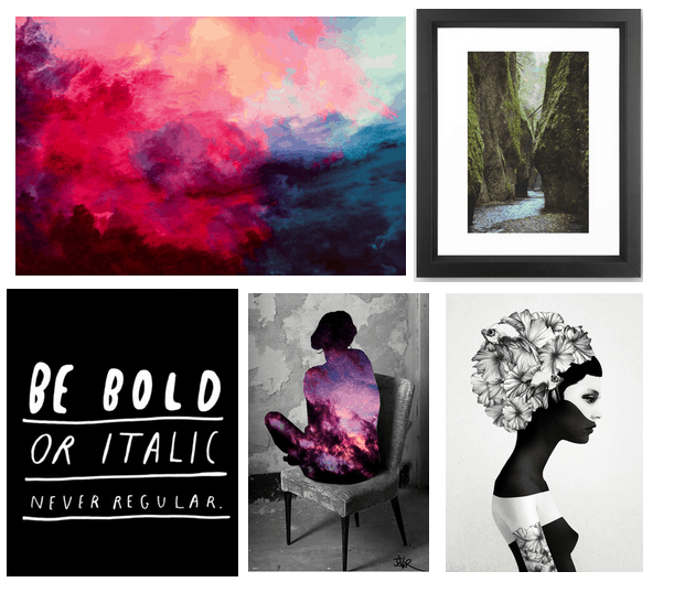 art prints you can buy on Society6