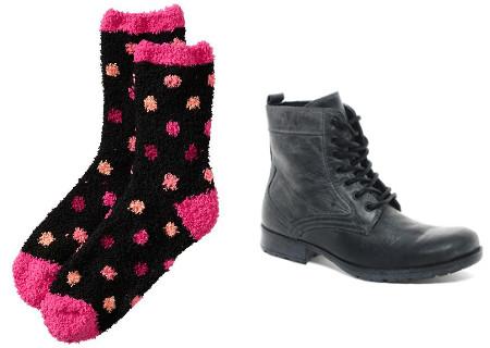 Socks and booties