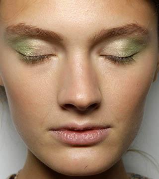 Alberta Ferretti Soft Green Eyeshadow