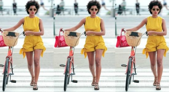 Solange Knowles in a romper
