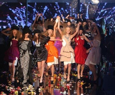Sonia Rykiel's Spring Fashion Show