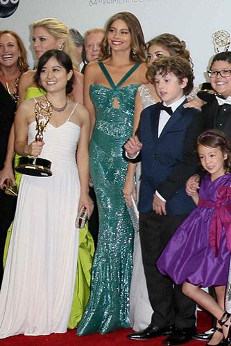 Sofia Vergara in Zuhair Murad at the 2012 Emmy Awards