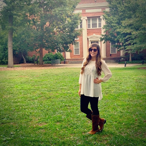 SOREL boots on campus - College Fashion