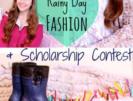Rainy Day Fashion + SORELstyleME scholarship contest