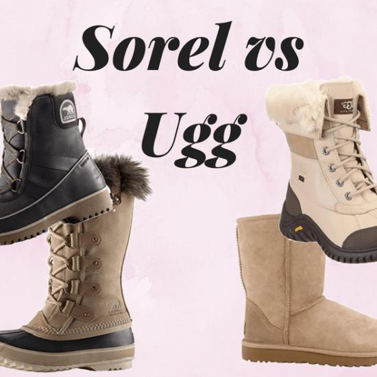 Sorel vs Ugg boots comparison