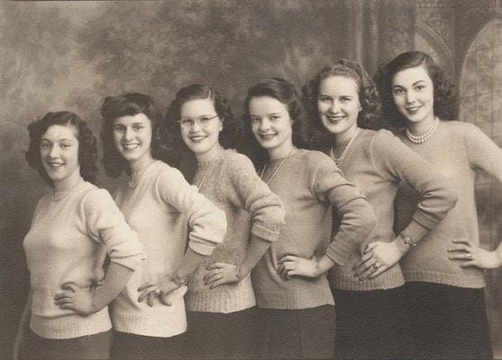 Sorority sisters 1950s