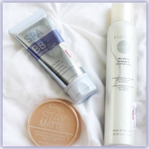 Spa bb rimmel stay matte biosilk dry shampoo august faves