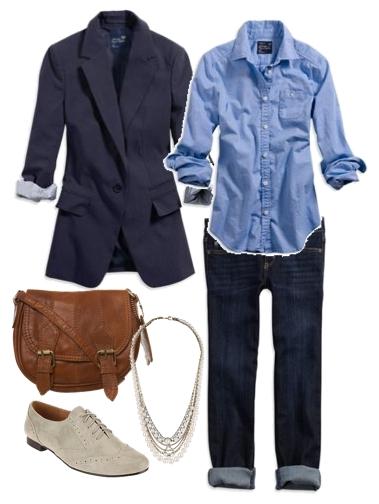 Spencer's Menswear-Inspired Look