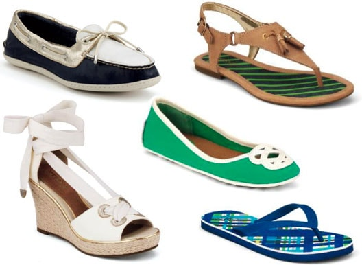 Sperry Top-Sider's Spring 2012 offerings