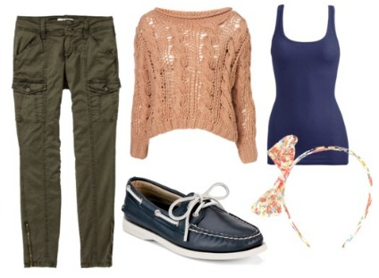 How to wear sperry topsiders outfit idea
