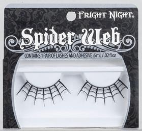Spirit Halloween Spiderweb Eyelashes