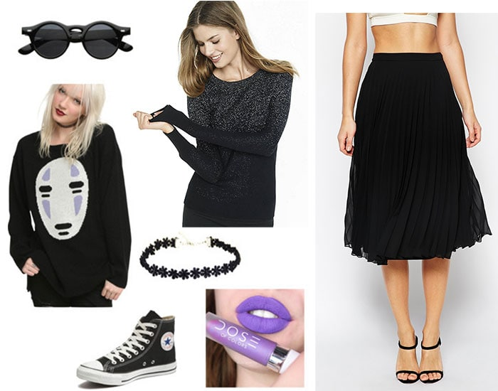 Spirited Away Fashion: Outfit inspired by No Face
