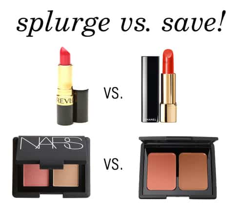 Splurge v save header luxury