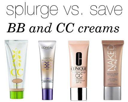 Splurge vs. Save NN & CC creams