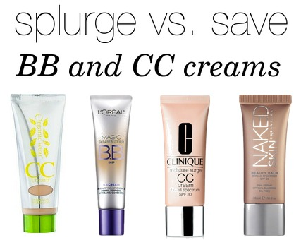 Splurge vs. Save NN & CC creams
