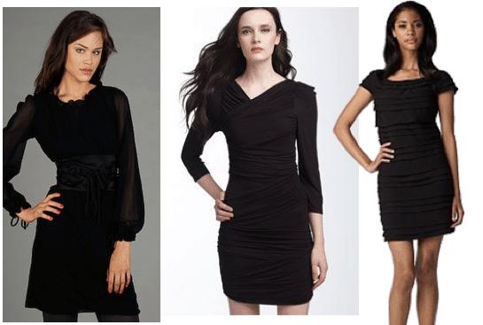 Splurge Little Black Dresses