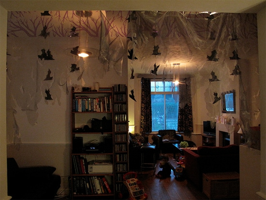 Spooky decorations