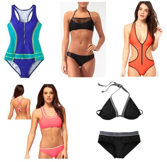 sporty swimsuits summer 2012