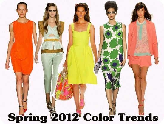 Spring 2012 Color Trends